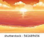 vector cartoon illustration of... | Shutterstock .eps vector #561689656