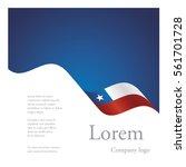 new brochure abstract design... | Shutterstock .eps vector #561701728