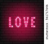 Valentines Day Love Typography...