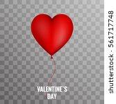 Valentine Balloon Heart On...