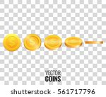 vector coins. coins in...