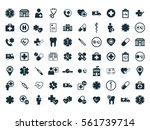 medical icons set on white...