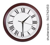 half past one on a big round... | Shutterstock . vector #561742453