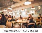 restaurant in bokeh  defocused... | Shutterstock . vector #561745153