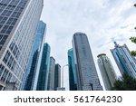 the skyscraper external...   Shutterstock . vector #561764230