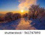 Sunrise On Deogyusan Mountains...
