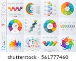 collection of 12 vector... | Shutterstock .eps vector #561777460