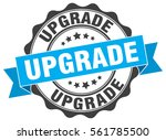 upgrade. stamp. sticker. seal....   Shutterstock .eps vector #561785500