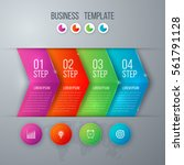 business infographics template... | Shutterstock .eps vector #561791128