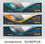 abstract banner design... | Shutterstock .eps vector #561809518