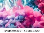 splash of color ink. abstract... | Shutterstock . vector #561813220