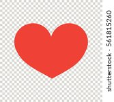 heart icon | Shutterstock .eps vector #561815260