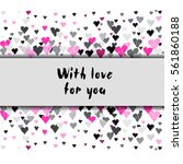 light horizontal border banner...   Shutterstock .eps vector #561860188
