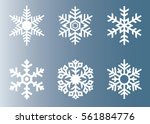 snowflake vector icon...   Shutterstock .eps vector #561884776