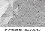 vector line art. geometrical...   Shutterstock .eps vector #561900760