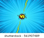 comic book versus background ... | Shutterstock .eps vector #561907489