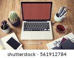 computer network connection... | Shutterstock . vector #561912784