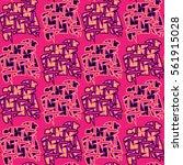 abstract decorative vector... | Shutterstock .eps vector #561915028