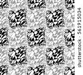 abstract decorative vector... | Shutterstock .eps vector #561915034