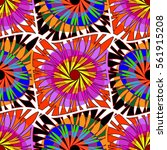 abstract decorative vector... | Shutterstock .eps vector #561915208
