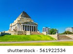 The Shrine Of Remembrance In...