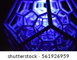3d printed dodecahedron with... | Shutterstock . vector #561926959