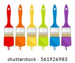 paint of different colors...   Shutterstock .eps vector #561926983