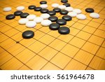 go game or weiqi  chinese board ... | Shutterstock . vector #561964678