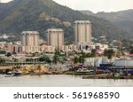 port of spain  trinidad | Shutterstock . vector #561968590