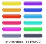long buttons | Shutterstock .eps vector #56196970