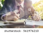 planning  risk and strategy in... | Shutterstock . vector #561976210