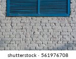 white brick wall background... | Shutterstock . vector #561976708