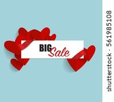 sale coupon  voucher  tag.... | Shutterstock .eps vector #561985108