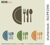 vector illustration sign with... | Shutterstock .eps vector #561991540