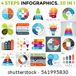 vector circle infographics.... | Shutterstock .eps vector #561995830