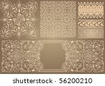 set with pattern in arabian... | Shutterstock .eps vector #56200210