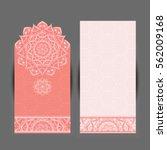 wedding invitation or card .... | Shutterstock .eps vector #562009168