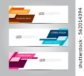 vector design banner background. | Shutterstock .eps vector #562014394