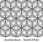 geometric patterns. vector... | Shutterstock .eps vector #562015960