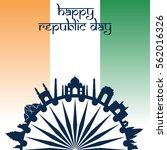 india republic day   Shutterstock .eps vector #562016326