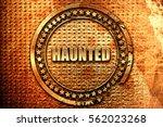Haunted  3d Rendering  Grunge...
