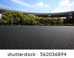 empty road floor surface with... | Shutterstock . vector #562036894