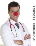 Clown Doctor Portrait