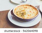 The Baked Macaroni Cheese Dish...