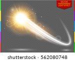 abstract semitransparent vector ...   Shutterstock .eps vector #562080748