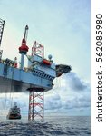 hdr image of offshore... | Shutterstock . vector #562085980