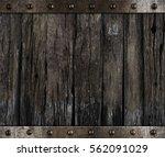 Medieval Barrel Wood Background