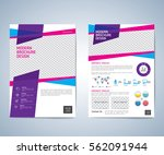 business brochure flyer design... | Shutterstock .eps vector #562091944