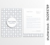 company letterhead design for... | Shutterstock .eps vector #562093789