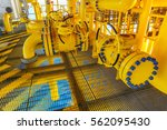 pipeline production and control ... | Shutterstock . vector #562095430